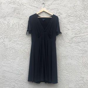 Cute and comfy black dress.